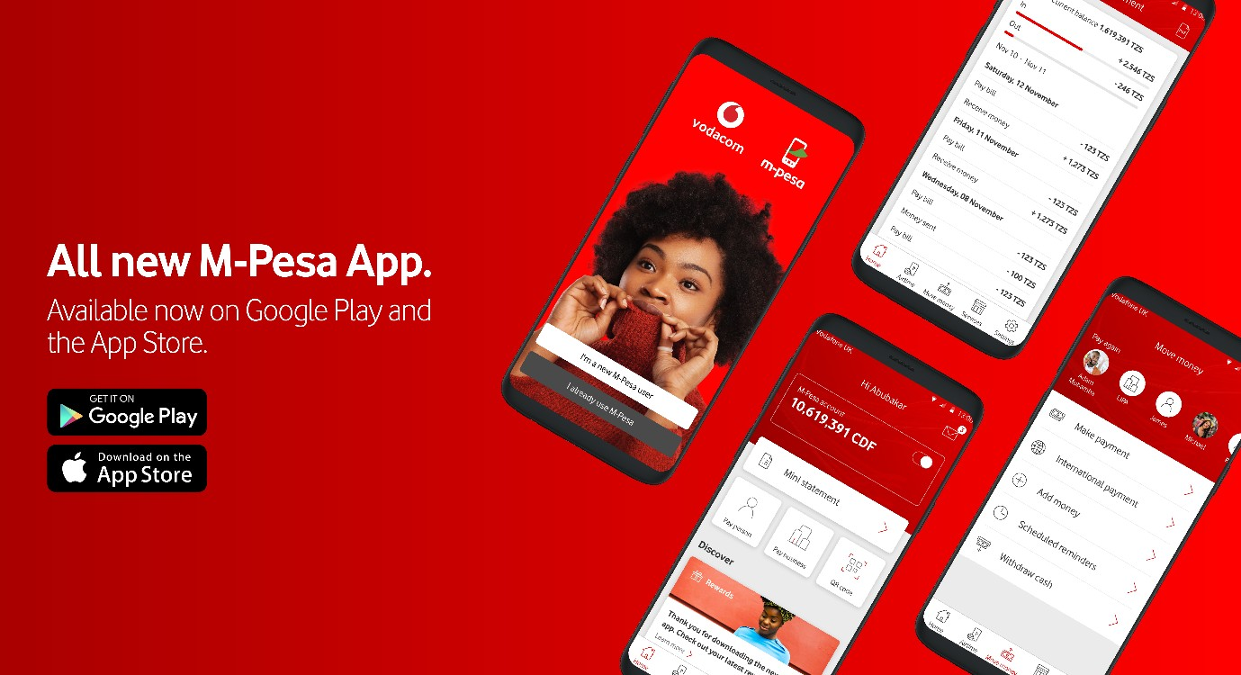 All new M-Pesa App