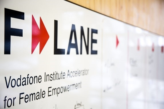 F-LANE is Europe's first accelerator focused on empowering women through technology