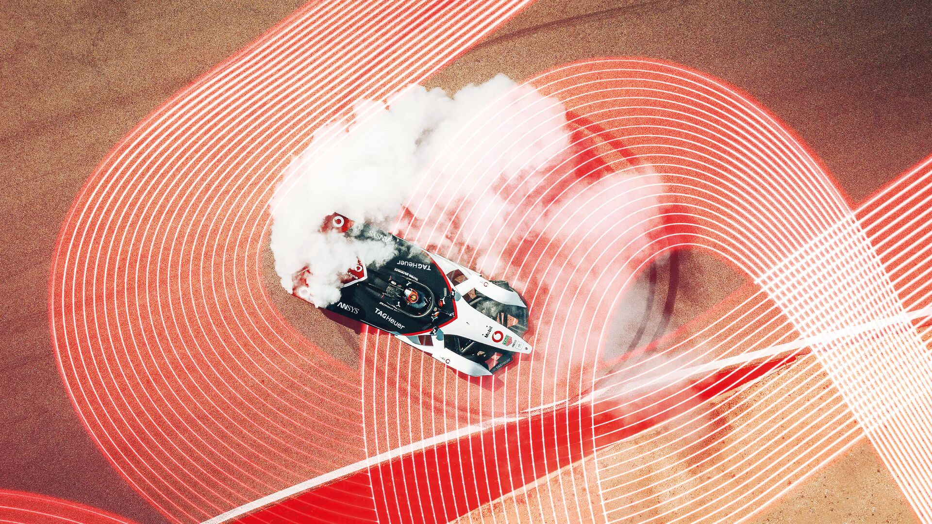 Porsche Formula E racecar