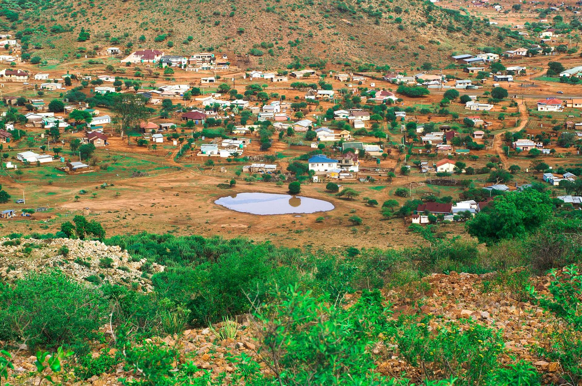 Limpopo Village. Image by Steward Masweneng from Pixabay