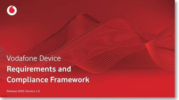 Vodafone device requirements