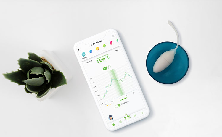<em>Nabta Health's OvuSense, a fertility monitoring system</em>