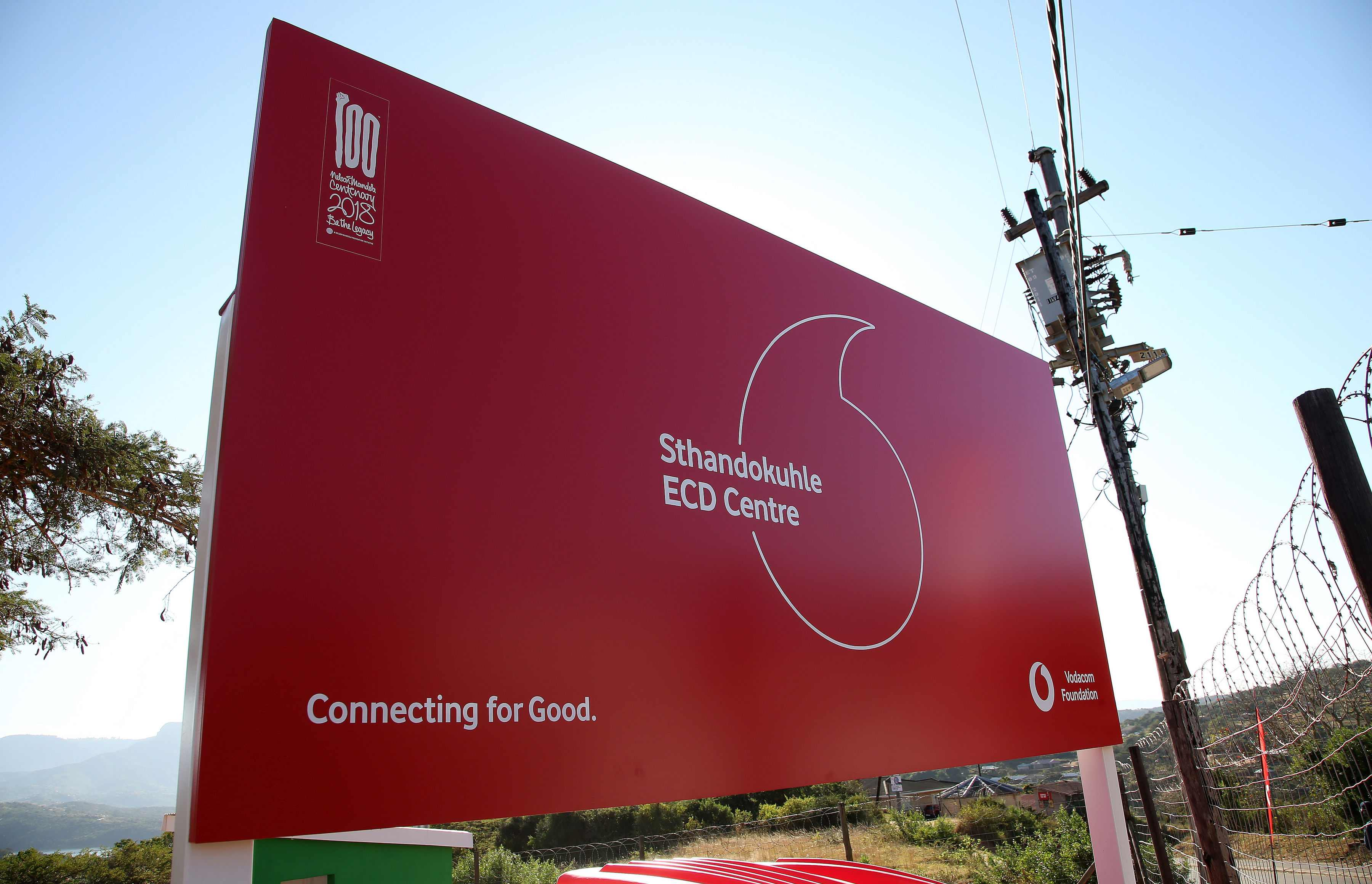 Vodacom Foundation's ECD Centre in Sthandokuhle, South Africa