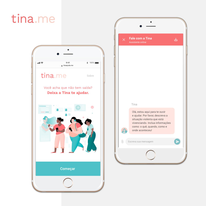 <em>Tina, the webchat platform</em>