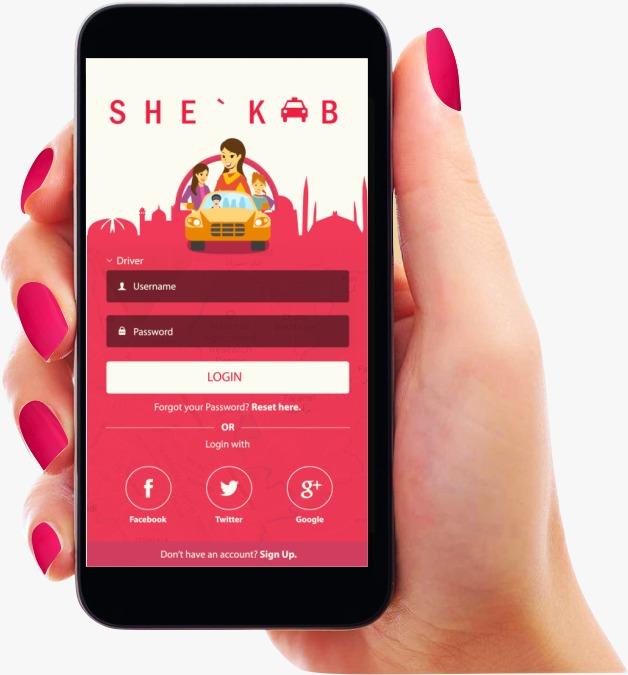 <em>She'Kab, the carpooling app</em>