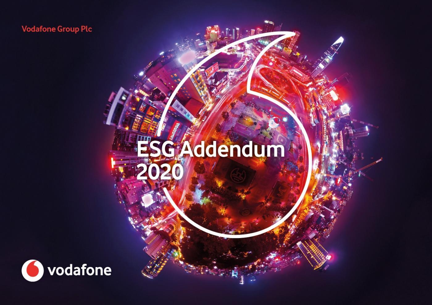 ESG Addendum 2020